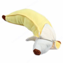 Soft 50cm Simulation Cotton Banana Plush Stuffed Toy Novelty Pillow Cushion Gift
