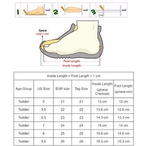 Image 5 - Apakowa marka yeni çocuk ayakkabı Pu deri çocuk ayakkabıları kızlar için bahar sonbahar kızlar ayakkabı ile kristal kemer desteği ayakkabı