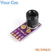 MLX90621 4X16 אינפרא אדום מערך טמפרטורת חיישן מודול 4*16 IR GY 906LLC חיישן לarduino