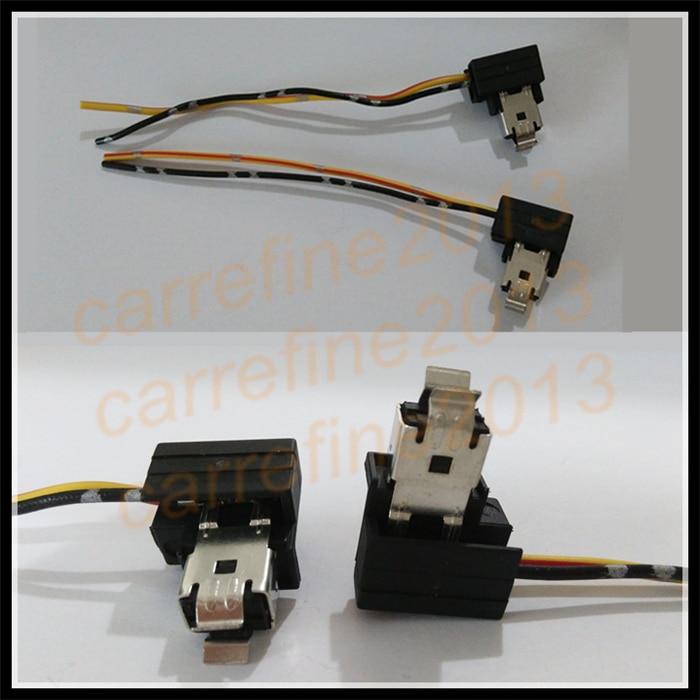 10pcs h1 power plug adapter connector h1 halogen bulb connector ...