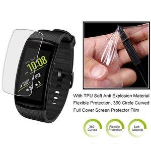 Image 4 - נגד שריטות רך TPU Ultra HD ברור מגן סרט עבור Samsung Gear Fit 2 פרו עבור ציוד Fit2/פרו מלא מסך מגן כיסוי