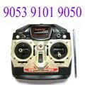Rc helicóptero doble del caballo repuestos 9050 9053 9101 controlador transmisor y receptor