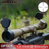 Снайперская охотничья оптика Riflescope 3,5 10X40 SF с подсветкой Rifle Scope Mil dot Reticle Telescope Sight