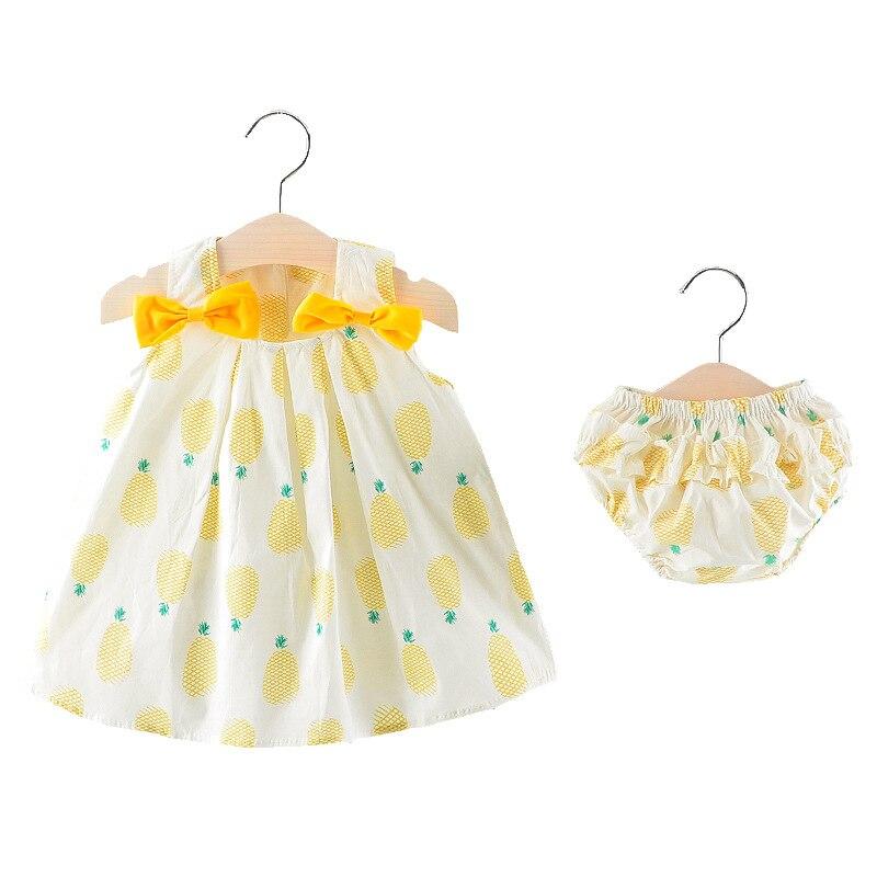 Baby Girl skirt Baby Summer Sling dress Cotton Dress Baby Girl Clothes Newborn Girl Birthday Princess Dress discount A84