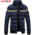 LONMMY M-3XL Winter down coat jacket men Stand collar Duck down coat men Brand clothing Slim Fashion jaqueta masculina 2016 New