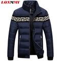 LONMMY M-3XL Winter down jacket coat hombres Del collar Del Soporte de Pato abajo hombres de la capa jaqueta masculina ropa Delgada de la Manera de la Marca 2016 nueva