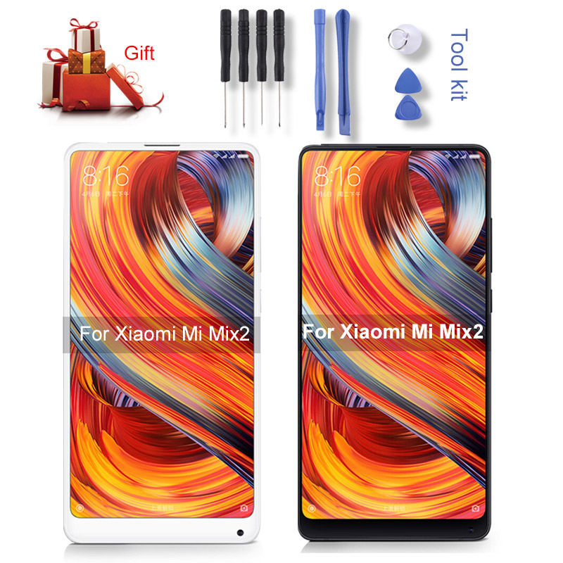 LCD Screen and Digitizer Full Assembly for Xiaomi Mi Mix2LCD Screen and Digitizer Full Assembly for Xiaomi Mi Mix2