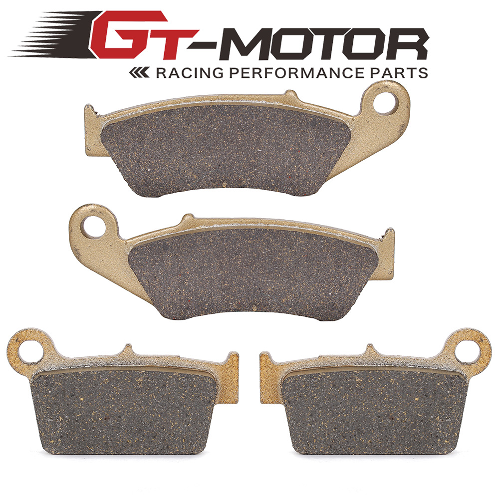 Motorcycle Front and Rear Brake Pads For YAMAHA YZ125 YZ250 YZ450 03-07 YZ250F 03-06 WR250 WR400 WR426 WR250 2003-2013 motorcycle front and rear brake pads for yamaha wr 450 f wr450f 2003 2010 brake disc pad