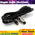 3Pin Condenser Microphone Cable XLR Female to 3.5mm Jack Dynamic Microphone Audio Cable For Computer Wire Cord Cabo do Microfone