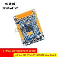 Panel STM32 ARM Development Board Small System Board 48-pin M3 STM32F103C8T6 Core Board New