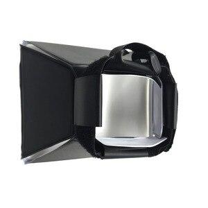 "Image 3 - Tycipy 14X10 ס""מ רך תיבת עם מעמד חצובה E27 מנורת תאורת ראש צילום וידאו סטודיו צילום אור מפזר Shoting"