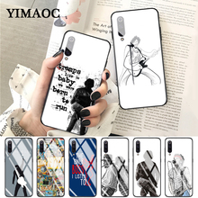 YIMAOC Bruce Springsteen Thunder Road Glass Case for Xiaomi Redmi 4X 6A note 5 6 7 Pro Mi 8 9 Lite A1 A2 F1