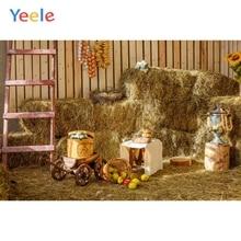 Yeele Autumn Rural Farm Barn Warehouse Hay Scene Baby Child Photography Backgrounds Custom Photographic Backdrop Photo Studio