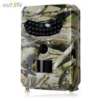 Outlife PR 100 Trial Camera Digital Remote Waterproof Hunting Cameras Infrared Light Motion Sensor Wild Trail Camera Photo Traps