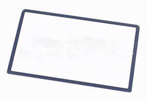 Image 2 - استبدال أعلى سطح الزجاج ل جديد 3DS LL XL ل جديد 3 dsxl 2015 شاشة الخارجي غطاء للعدسات الأسود الأبيض الأحمر الأزرق