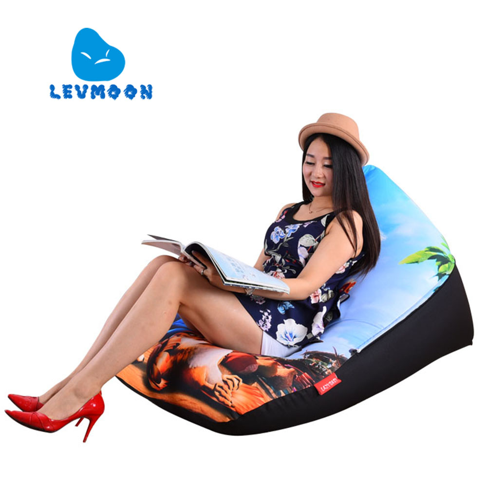 LEVMOON Beanbag Sofa Chair Birds Seat zac Shell Comfort Bean Bag Bed Cover Without Filler Cotton Indoor Beanbag Lounge Chair levmoon beanbag sofa chair donkey seat zac shell comfort bean bag bed cover without filler cotton indoor beanbag lounge chair