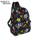 Mara's Dream 2017 Fashion Canvas Women Backpack Star Printing Rucksack School Bags For Teenagers Girls Travelling Backpacks