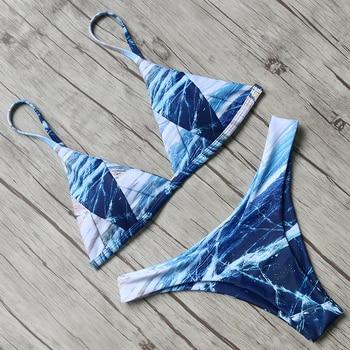 Hot Sexy Brazilian Bikini 2019 Swimwear Women Swimsuit Bathing Suit Biquini Bikini Set Bandage Swim Suit Maillot De Bain Femme 4