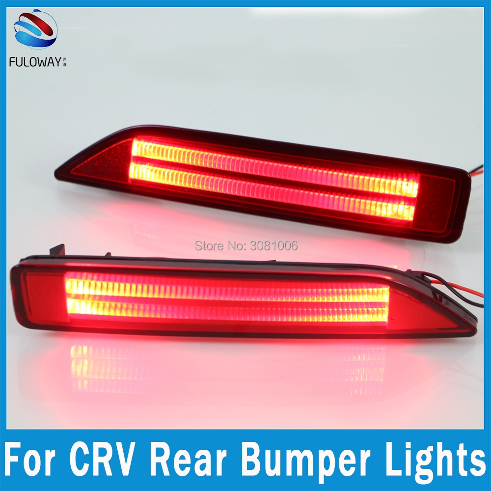 small resolution of for honda crv cr v led tail light assembly brake drl daytime running lights fog multi functions auto rear bumper brake lights in car light assembly from