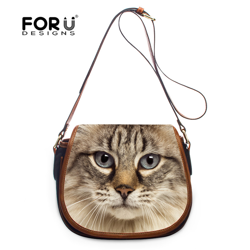 Cute Cat/&Dog Designer Small Crossbody Bags Mini Shoulder Handbag
