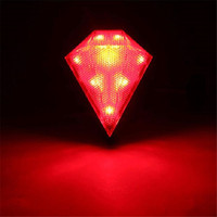 Hot Selling 8 LED Crative Rear Tail Safety Flashing Light For Cycling Bike Lamp MTB Bicycle