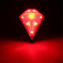 Hot Selling 8 LED Crative Rear Tail Safety Flashing Light For Cycling Bike Lamp MTB Bicycle Accessories