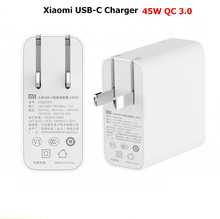Xiaomi USB-C Charger Type-C Port USB 45W PD 2.0 QC 3.0 Quick Charge Free Cable & Adapter As Gift 1pcs FreeShipping!!(China (Mainland))