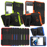 Heavy Duty For Samsung T280 TPU PC Armor Cover For Samsung Galaxy Tab A 7 0