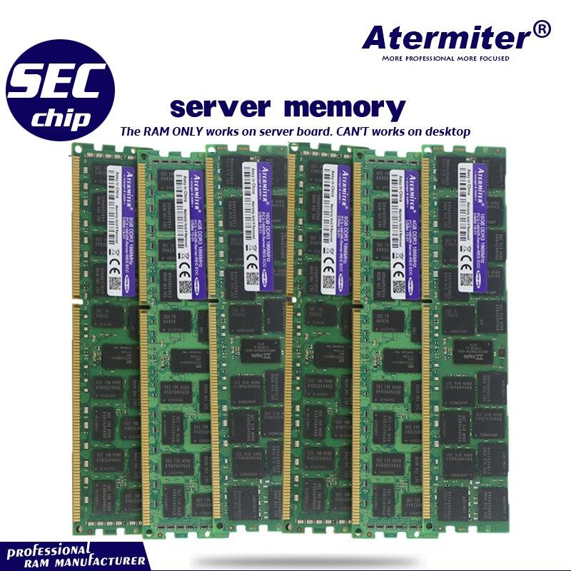 Dell T3600 T5600 T7600 32GB Upgrade Kit 4X 8GB Certified Refurbished DDR3-1600 ECC Reg Memory