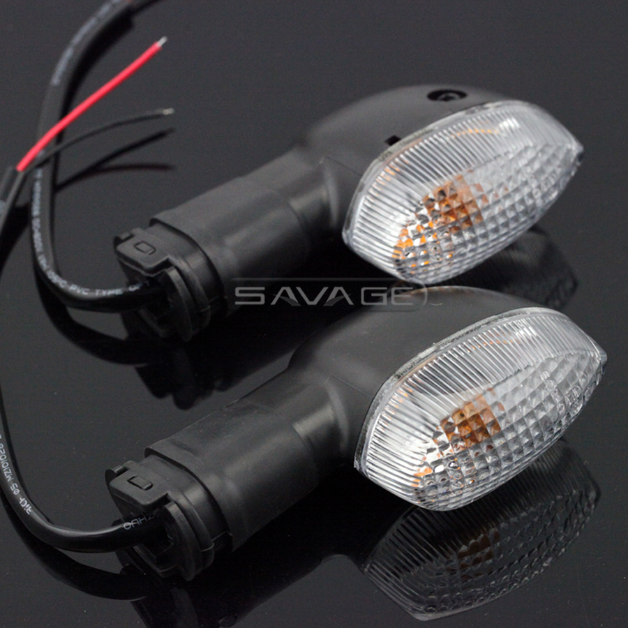 For <font><b>YAMAHA</b></font> FZ1 FZ8 Fazer FZ1N FZ6 N/S/R Motorcycle Accessories Blinker Turn Signal Light Indicator Lamp Front/Rear Clear