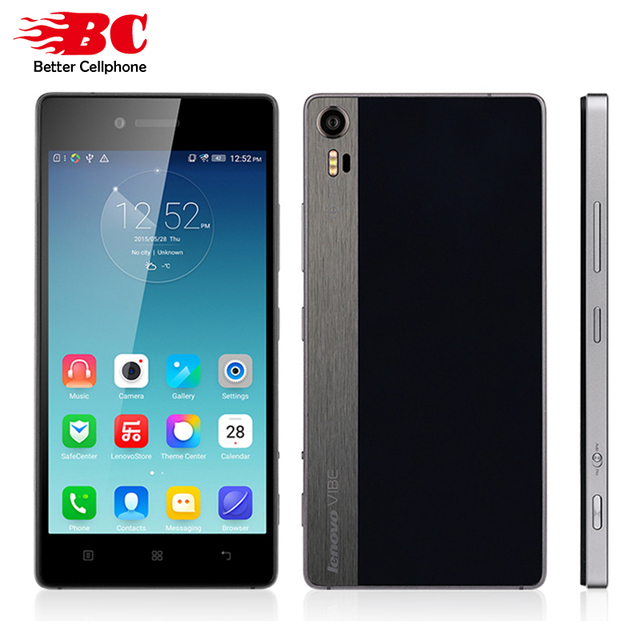 Original Lenovo Vibe Shot Z90-3 GSM Qual-comm MSM8939 Snapdragon 615 64Bit Octa Core 5.0'' 1080P Android 5.1 3GB RAM 16MP Phone