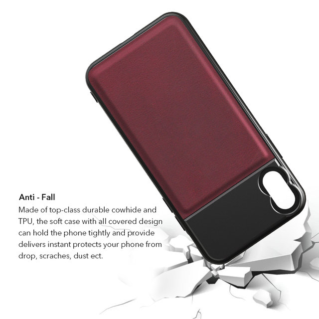 APEXEL High Quality Aluminum alloy+Leather Phone case with 17mm thread for iPhone X XS max Huawei p20 p30 pro for phone lenses 5