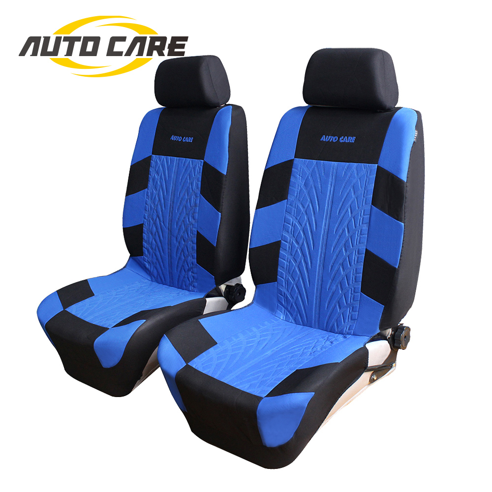 High Quality Fashion Tire Track Design Car Seat Cover Full Set Universal Fit Airbag Compatible Seat Cover