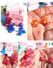 New Arrival styling tools cute Five-pointed star elastic hair bands hair accessories for women girl children make you fashion