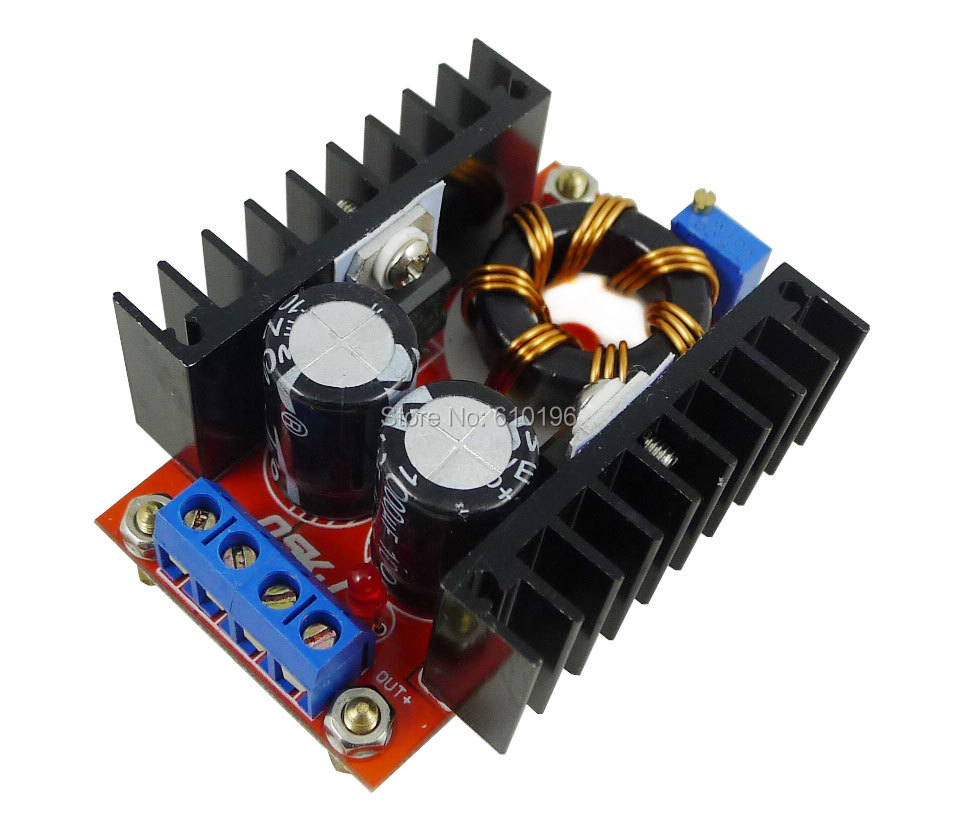 10PCS/LOT 150W Adjustable DC 10V-32V to 12V-35V Step up Boost Converter Power Supply Module High Quality