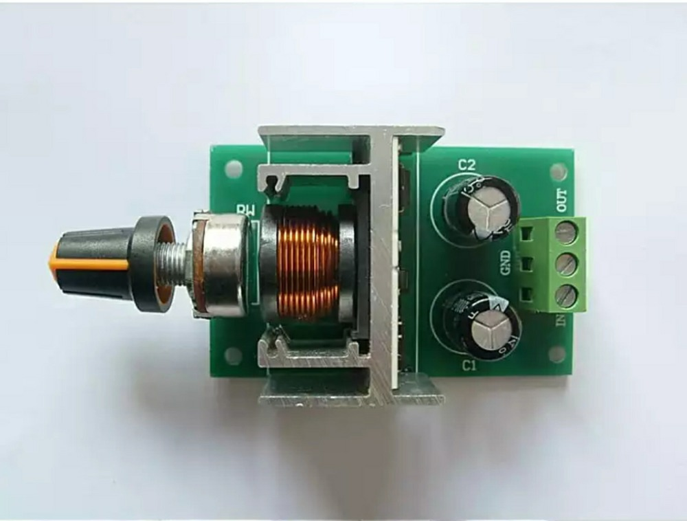 Dc motor speed controller: PWM/stepless speed regulation switch /5v -40v 3a lzx цена