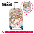 Personality Thick Travel Luggage Covers,Fabric Waterproof Suitcase Protective Dust Cover Apply For 18-30 Inch Trolley Case