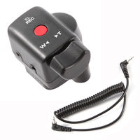 Camcorder Wired Zoom Remote Controller with 2.5mm Jack Cable for Sony Canon Panasonic Lanc