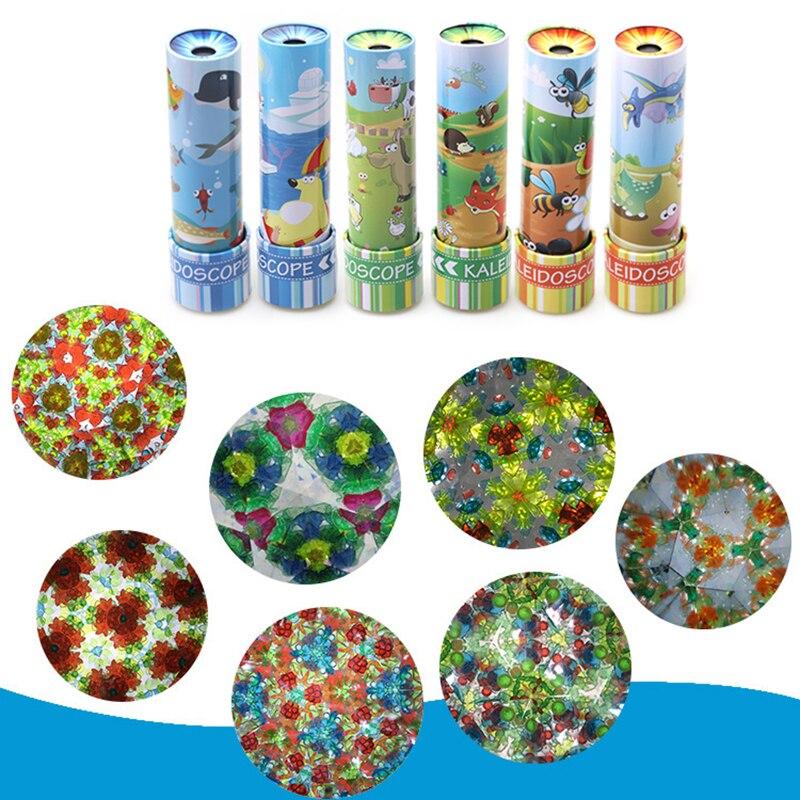 Imaginative-Cartoon-Animals-3D-Kaleidoscope-Paper-Card-Kaleidoscope-Metal-Iron-Sheet-Rotary-Colorful-Word-Interactive-Toys-3