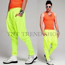 26-40 ! Plus size Free shpping fashion men's clothing neon series pants harem pants casual pants men's clothing costumes