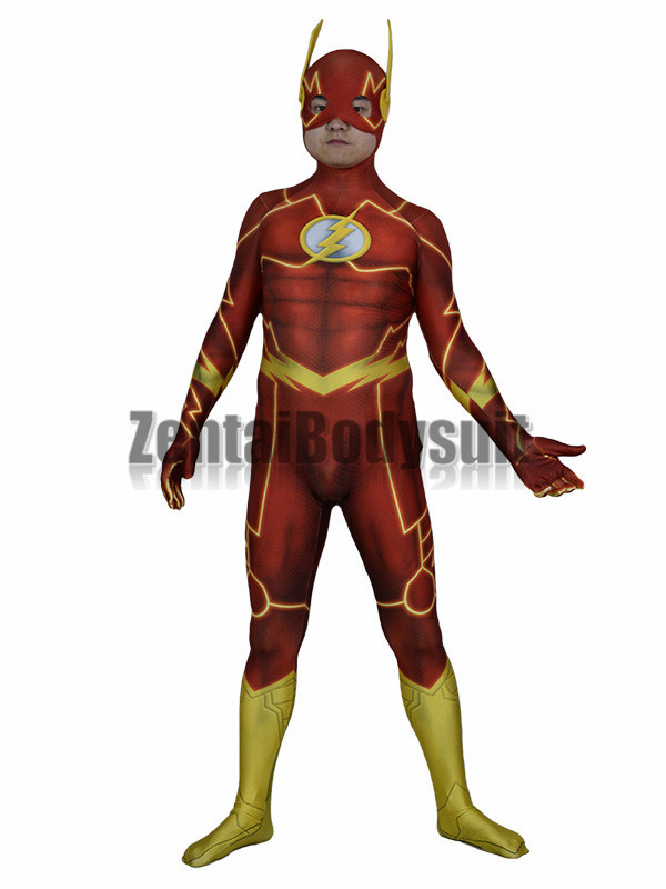 3D Print Shade Flash Costume Halloween Party Cosplay Suit