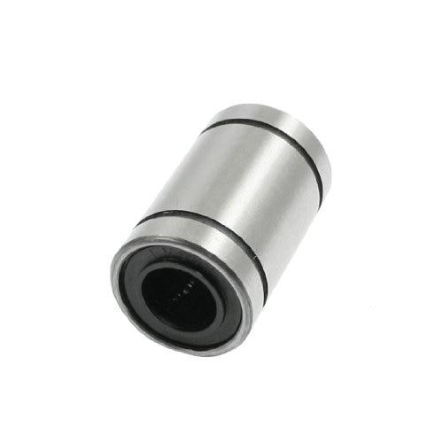 WSFS Hot New 8mm x 15mm x 24mm Silver Tone Metal LM8UU Linear Motion Ball Bearings wsfs hot 10 pcs 625zz 5mm x 16mm x 5mm