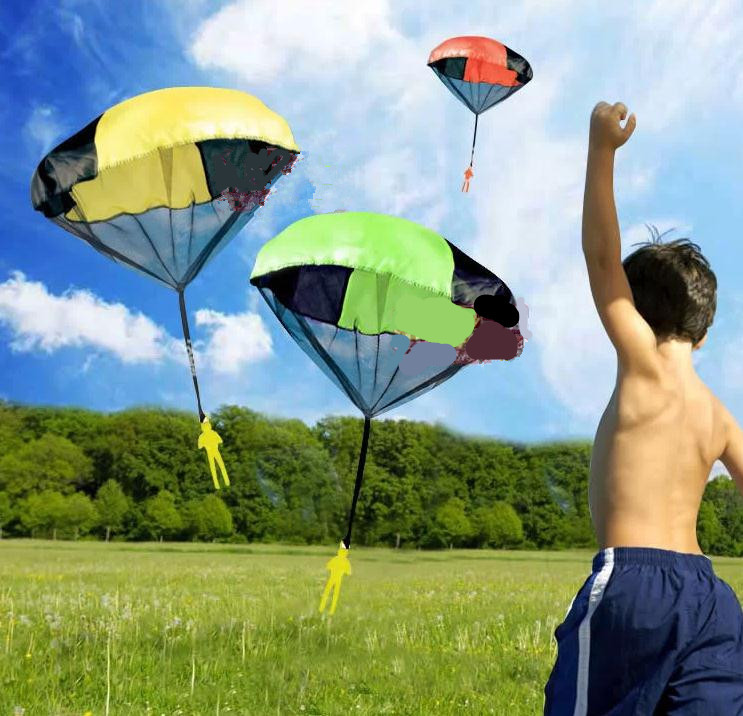 Children gift Parachute Throw and Drop Toys for Bo...