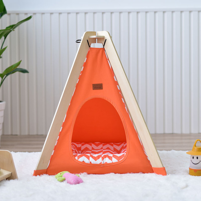 Little Dove New Design Pet house Bed Dog Kennel Dog Wooden Pet Tents Cute Cat Bed : dog kennel tent - memphite.com