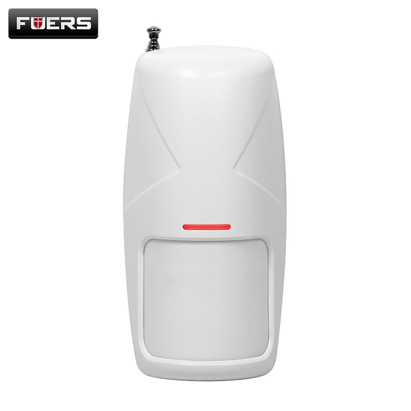 433 MHz Wireless 10KG Pet Friendly Motion PIR Detector Infrared Detector For Home Security Alarm System