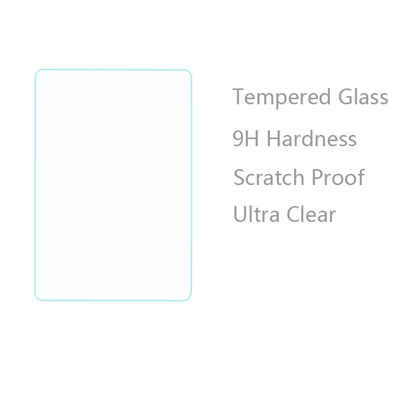 Scratch Proof 9H Tempered Glass Film Ultra Clear Screen Protector for Apache A701 7 Inch Tablet PC