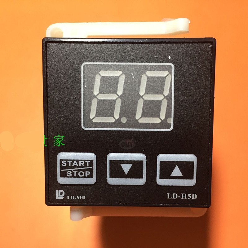 1pcs Liushi electronic instrument factory gas oven timer timer intelligent time relay timer Liushi LD-H5D LD H5D Oven Parts universal oven timer buzzer alarm reminder