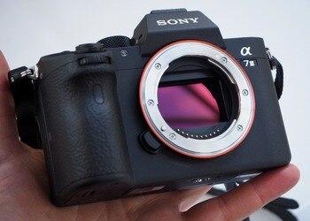 Sony Alpha A7 III ILCE7M3/B Aynasız dijital kamera Vücut Sadece
