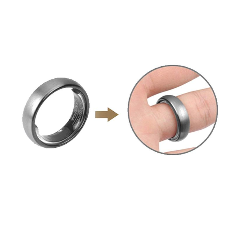 Invisible Ring Size Adjuster For Loose Rings 6 Sizes Jewelry Guard Spacer Fitter Fashion Jewelry