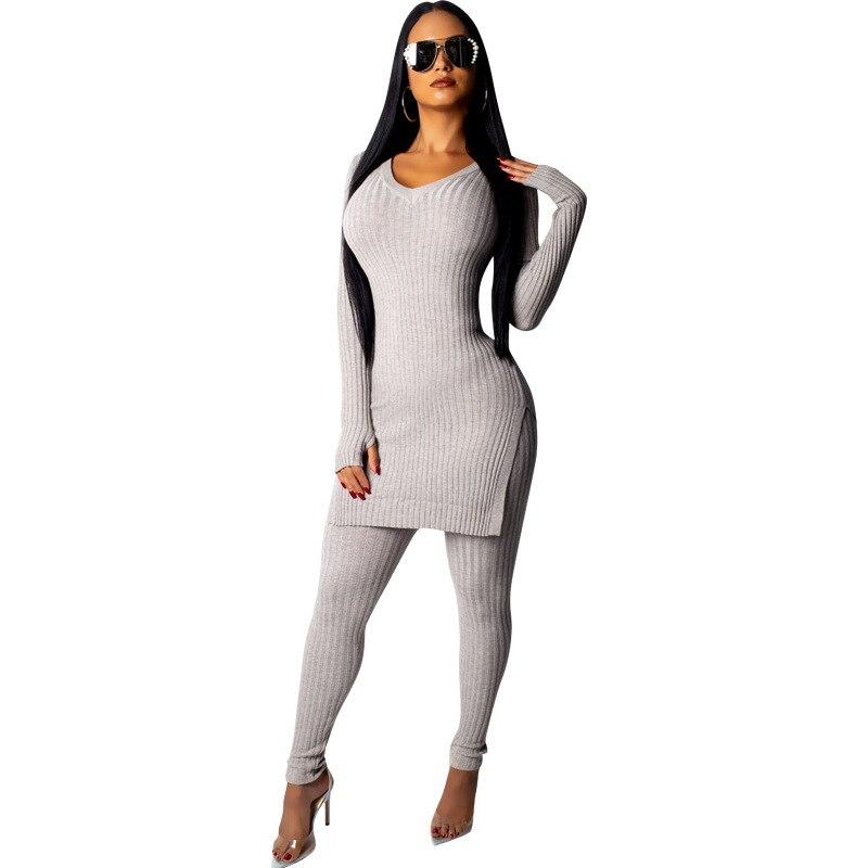 Autumn Women Fitness Sets Outdoor Tracksuit Female Long-Sleeved Pants Black Hooded Outwear Kawaii Set 2019 Winter 2 Piece Set